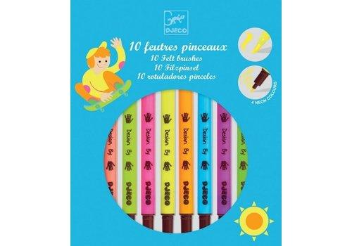 Djeco Djeco 10 Pop Viltstiften