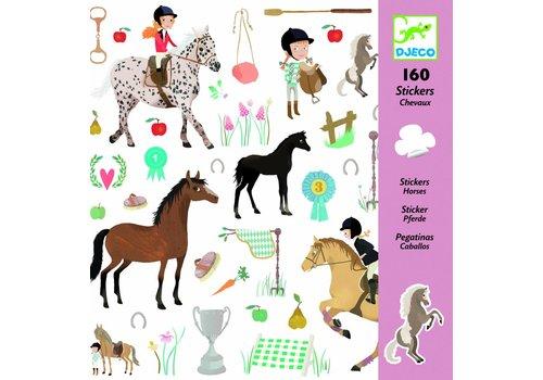 Djeco Djeco stickers paarden
