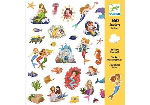 Djeco Djeco stickers Zeemeerminnen