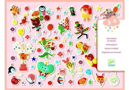 Djeco Djeco Puffy Stickers Feest