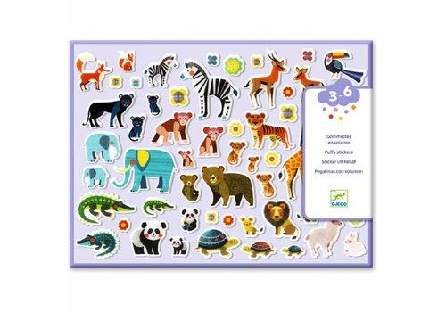 Djeco Djeco Puffy Stickers Mama's En Kleintjes