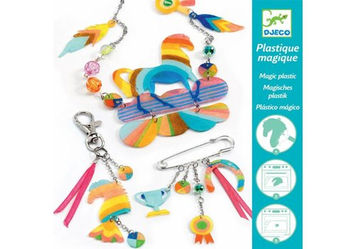 Djeco Djeco Magic Plastic Rainbow Horse