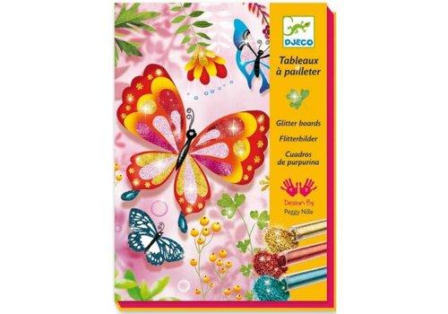 Djeco Djeco glitterzand vlinders