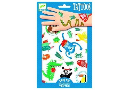 Djeco Djeco tattoos dierensnoetjes
