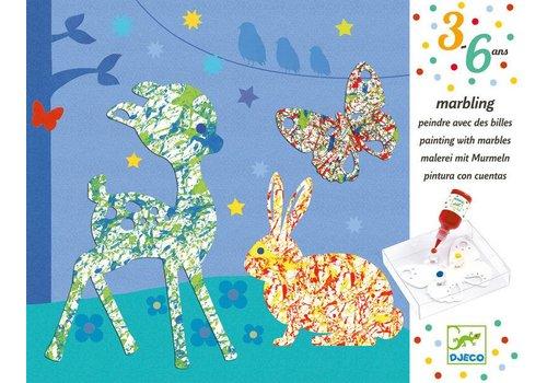 Djeco Djeco Schilderen met Knikkers Bonte Parade