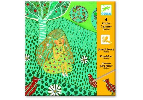Djeco Djeco kraskaarten Ondine