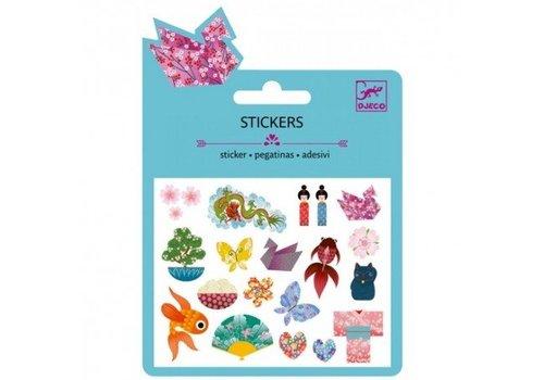 Djeco Djeco stickers Japanse Motieven