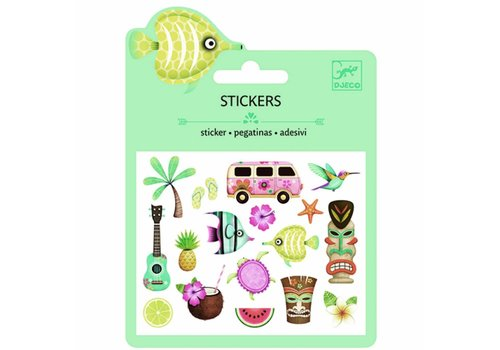 Djeco Djeco stickers hawai