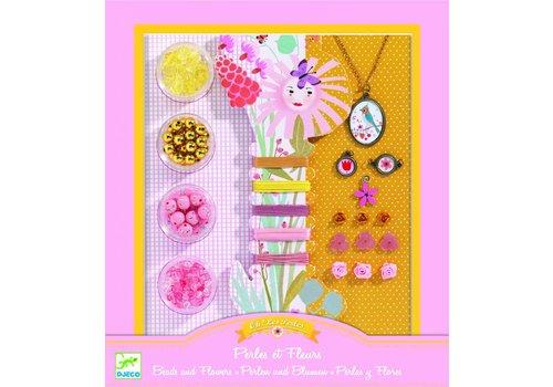 Djeco Djeco parels rijgen 'Perles et fleurs'