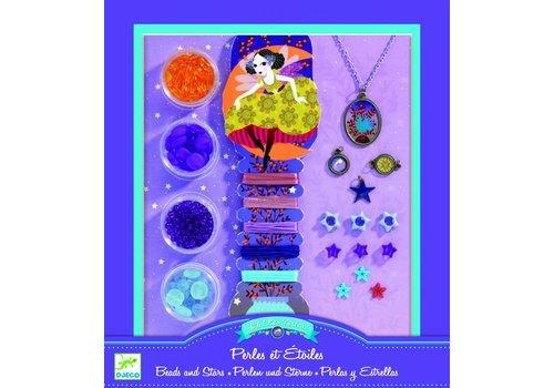 Djeco Djeco creatief met parels 'Perles & Étoiles'