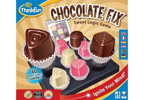 Thinkfun Thinkfun Chocolate Fix  denkspel
