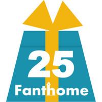 Cadeaubon Fanthome 25 euro