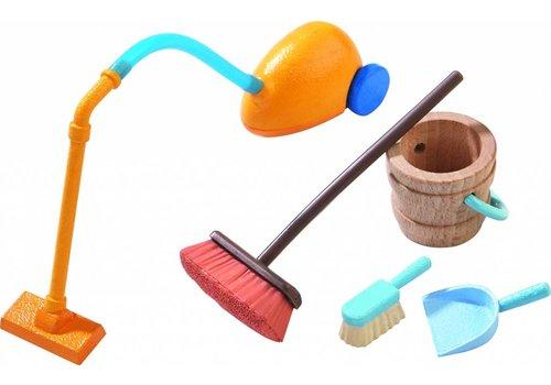 Haba Haba Little Friends - Accessoires voor het poppenhuis Poetsgerief