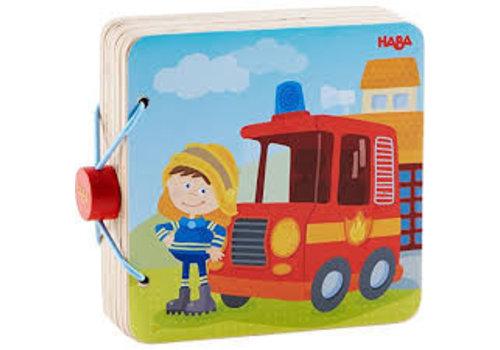 Haba Haba Houten Babyboek Brandweer