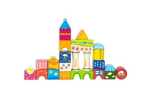 Hape Hape Fantasia blokken kasteel