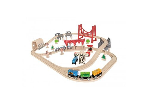 Hape Hape Treinset Double Loop