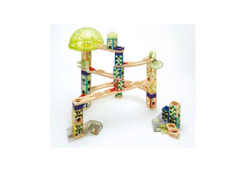 Hape Hape Space City Glow In The Dark Knikkerbaan