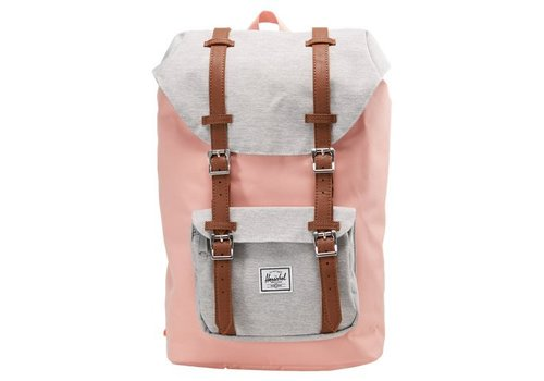 Herschel Supply Co Herschel Little America mid-Vol Peach/Light Grey