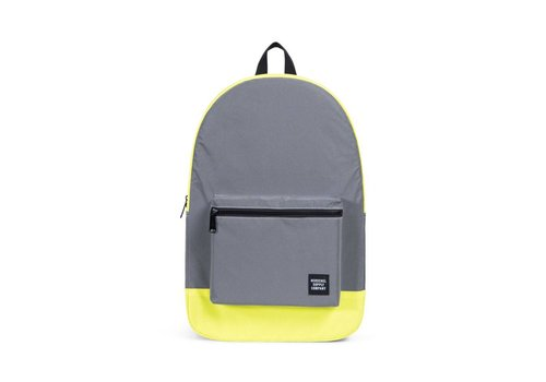 Herschel Supply Co Herschel Day/Night Packable Daypack Neon Yellow Reflective/Peacoat Reflect