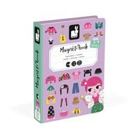 Janod Magneti'book Meisjes Aankleden