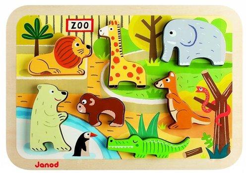 Janod Janod Chunky puzzel zoo