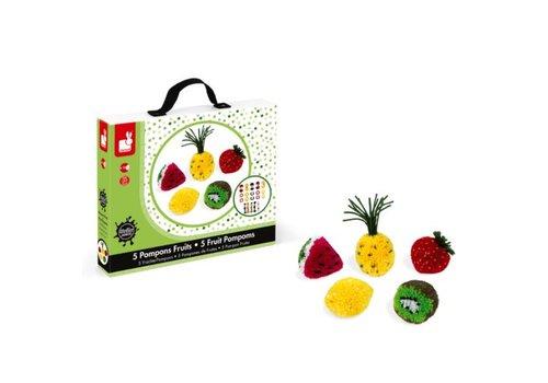 Janod Janod Fruit Maken Met Pompons