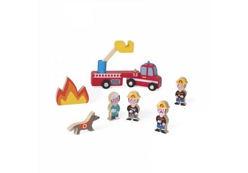 Janod Janod Mini Story Brandweer