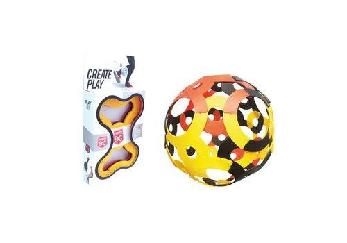 Foooty Foooty Pack Travel Reisvoetbal Rood Geel Zwart