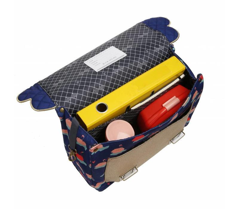 Jeune Premier It schoolbag Midi Posh Parrots