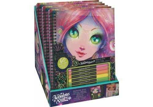 Nebulous Stars Nebulous Stars Kleurboek Zwarte Pagina's
