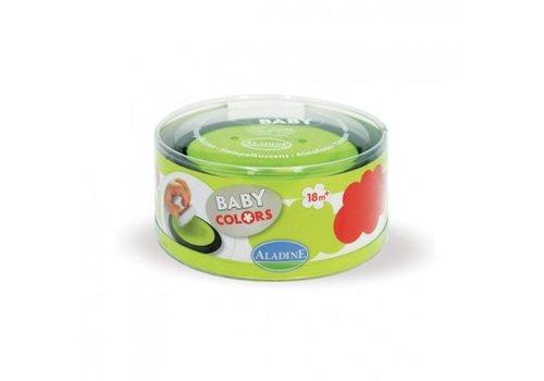 Aladine Aladine Stampo Baby inktkussenset Rood/Groen