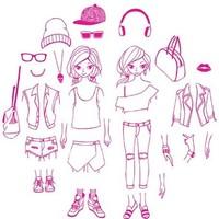 Aladine Stampo Fashion Dressing City Street