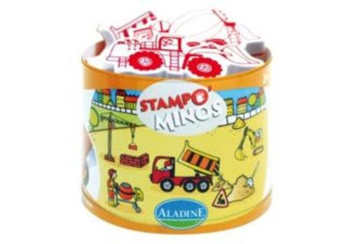 Aladine Aladine Stampo Minos Bouwvoertuigen