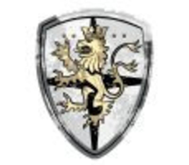 Bestsaller Schild Edele Ridder Zwart/Goud