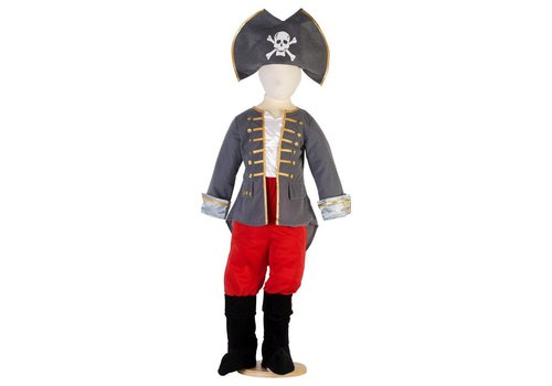 Travis Travis Designs Piraten Kapitein Verkleedset 3 - 5 jaar