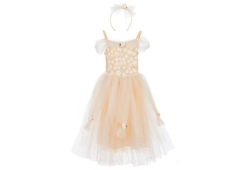 Travis Designs Travis Designs Golden Princess jurk 3 - 5 jaar