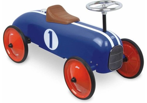 Vilac Vilac Vintage Loopwagen Blauw Metaal