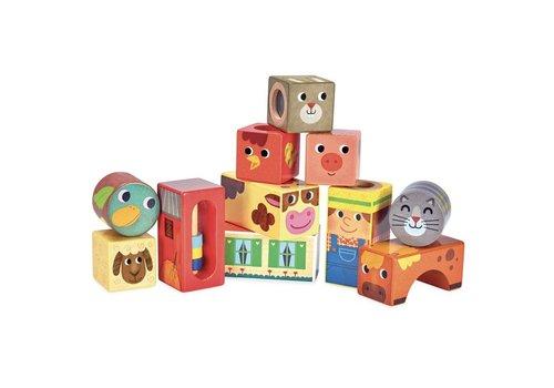 Vilac Vilac Musical Cubes Farm