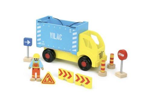 Vilac Vilac Containervrachtwagen met onderdelen