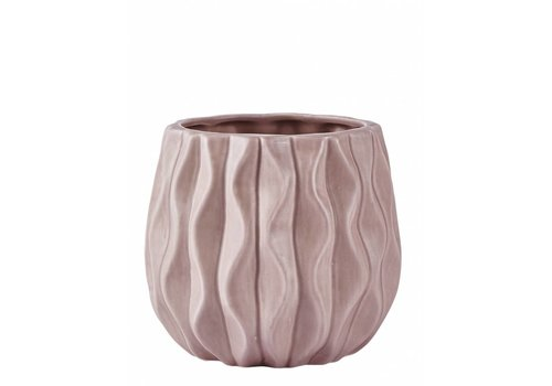 KJ Collection KJ Collection Ceramic Flowerpot Pink