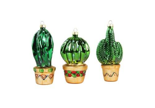 Klevering Klevering Set van 3 cactus ornamenten
