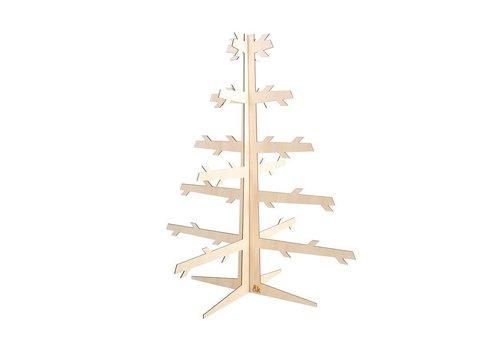 Klevering &Klevering Houten kerstboom