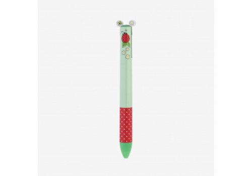 Legami Legami Click & Clack Duo Pen Lucky Bug