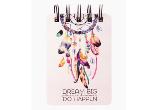 Legami Legami Mini Notaboek Dream Big