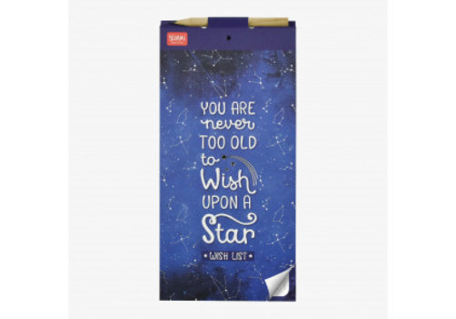 Legami Legami Magnetische Memoblaadjes 'You're never too old to wish upon a star'