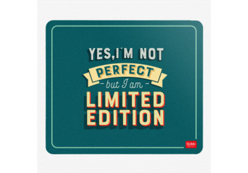 Legami Legami Muismat 'I'm Not Perfect But I'm A Limited Edition'