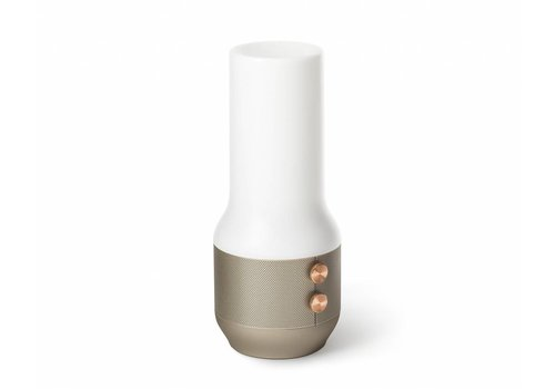 Lexon Lexon Terrace Bluetooth Speaker & Light Gold