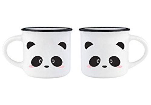 Legami Legami Espresso tassen set Panda