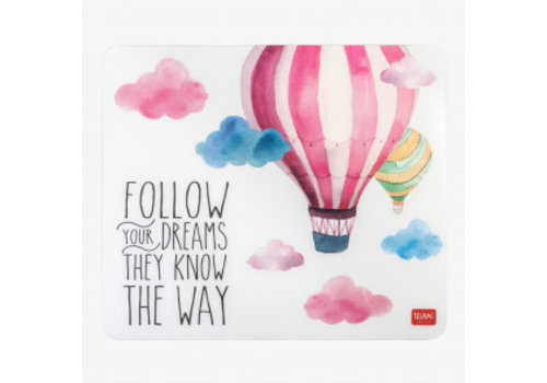Legami Legami Muismat 'Follow your dreams'