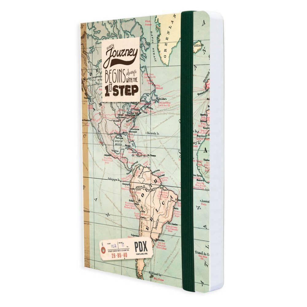 967446d503e Legami Notaboek medium 'Landkaart'
